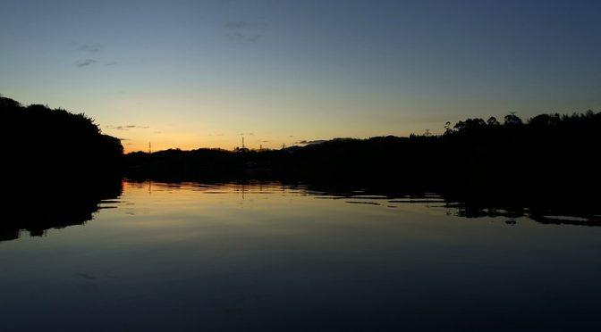 山田池公園 夜明