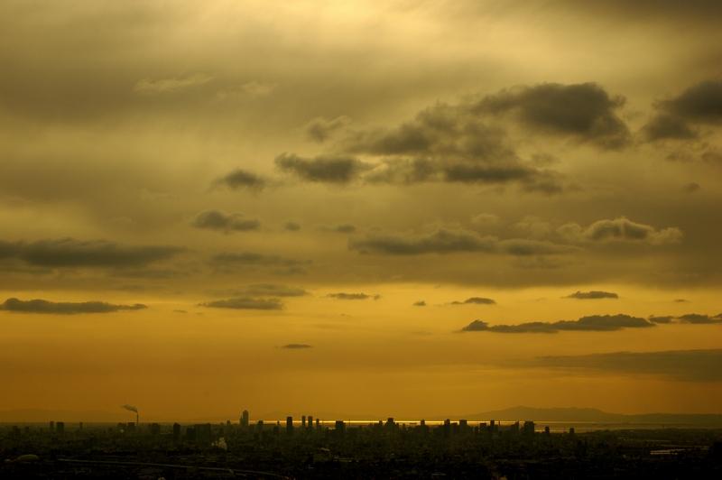 交野山 夕景
