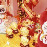 横浜中華街 春節 獅子