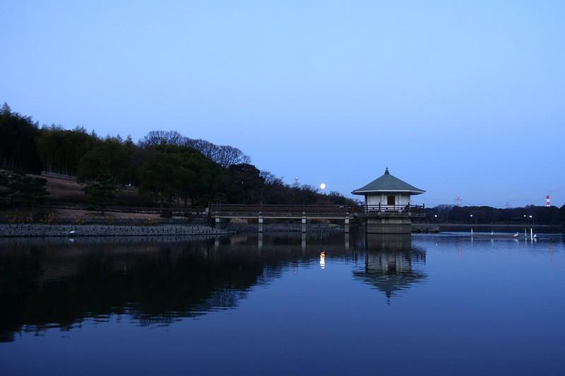山田池公園 浮御堂