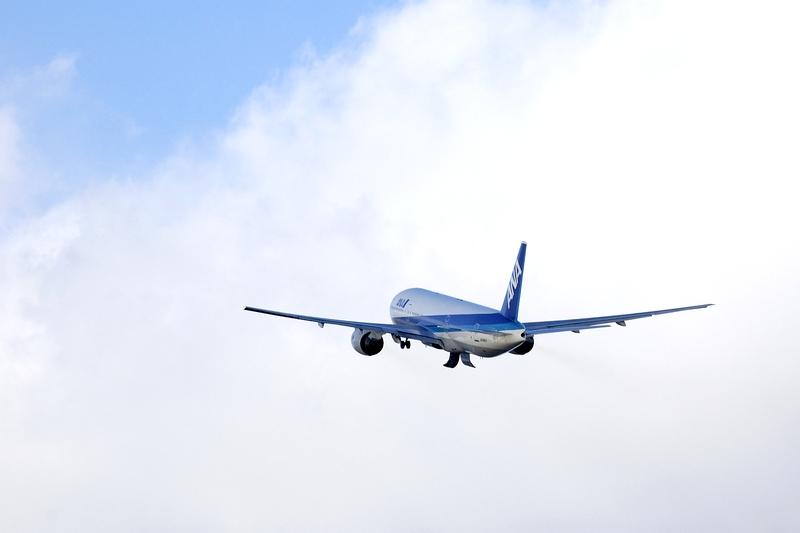 伊丹空港 飛行機