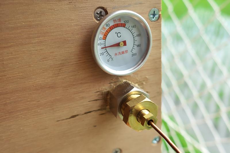 燻製 温度計 サームスタット